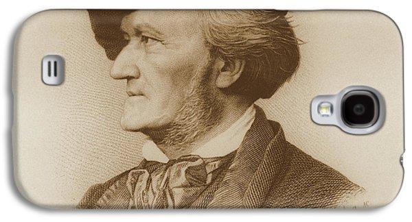 Portrait Of Richard Wagner German Galaxy S4 Case