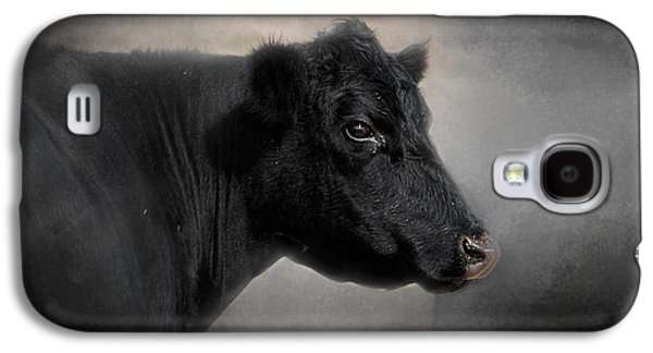 Portrait Of The Black Angus Galaxy S4 Case