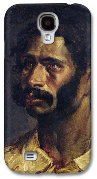 Portrait Of The Carpenter Of The Medusa, C.1812 Oil On Canvas Galaxy S4 Case by Theodore Gericault