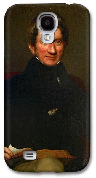Portrait Of Wigram Money Galaxy S4 Case by British Library