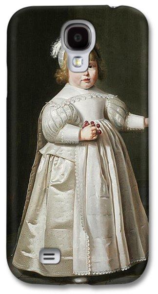 Portrait Of Willem Van Der Muelen, Age Galaxy S4 Case