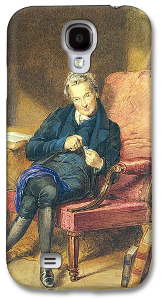 Portrait Of William Wilberforce 1759-1833 1833 Wc On Paper Galaxy S4 Case