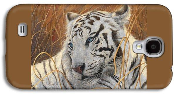 Portrait White Tiger 1 Galaxy S4 Case