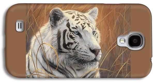 Portrait White Tiger 2 Galaxy S4 Case