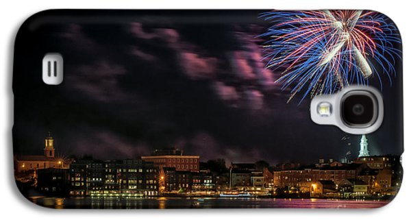 Portsmouth Nh Fireworks 2013 Galaxy S4 Case by Scott Thorp