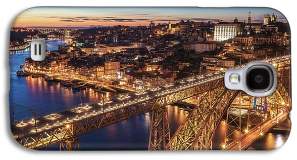 Travel Galaxy S4 Case - Portugal - Porto Blue Hour by Jean Claude Castor