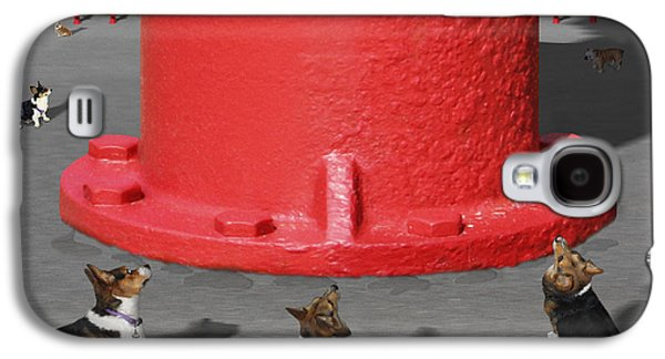 Postcards From Otis - The Hydrant Galaxy S4 Case by Mike McGlothlen