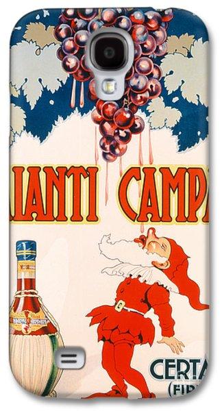 Poster Advertising Chianti Campani Galaxy S4 Case by Necchi