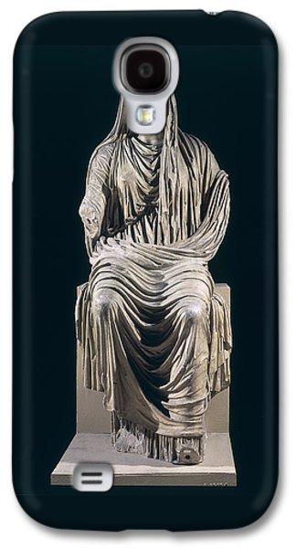 Posthumous Statue Of Livia Galaxy S4 Case by Roman School