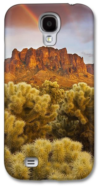 Pot Of Gold Galaxy S4 Case by Peter Coskun