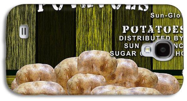 Potato Farm Galaxy S4 Case by Marvin Blaine