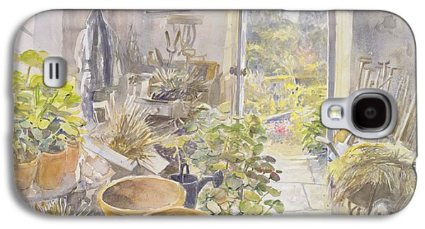 Potting Shed At La Forge De Buffon Wc Galaxy S4 Case by Tim Scott Bolton