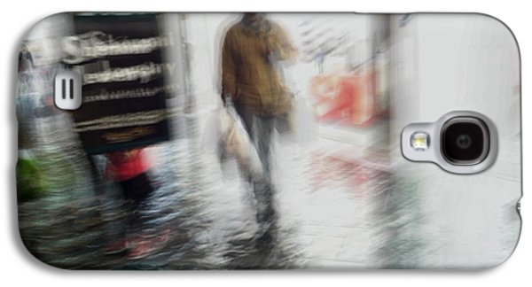 Galaxy S4 Case featuring the photograph Pounding The Pavement by Alex Lapidus