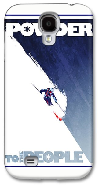 Sports Galaxy S4 Case - Powder To The People by Sassan Filsoof