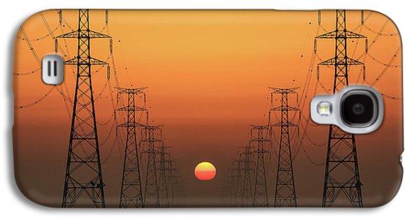 Power Line Galaxy S4 Case