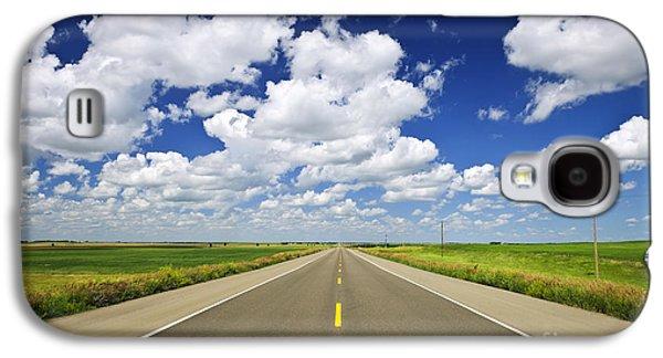 Prairie Highway Galaxy S4 Case by Elena Elisseeva