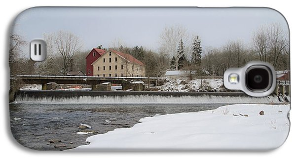 Prallsville Mills And Waterfalls - Stockton New Jersey Galaxy S4 Case by Bill Cannon