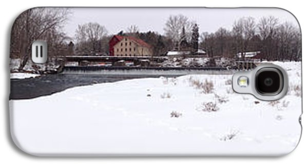 Prallsville Mills And Waterfalls - Stockton New Jersey Panorama Galaxy S4 Case by Bill Cannon