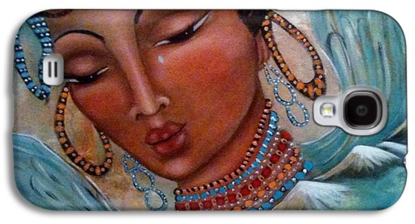 Pray For Tibet Galaxy S4 Case by Maya Telford