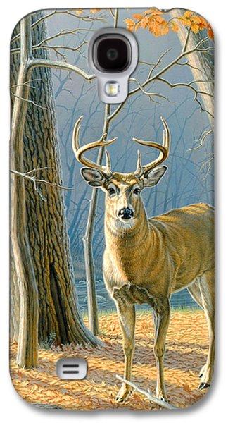 Pre-flight- Whitetail Buck Galaxy S4 Case