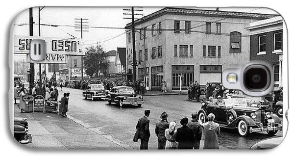 Pres. Roosevelt's Motorcade 1944 Galaxy S4 Case