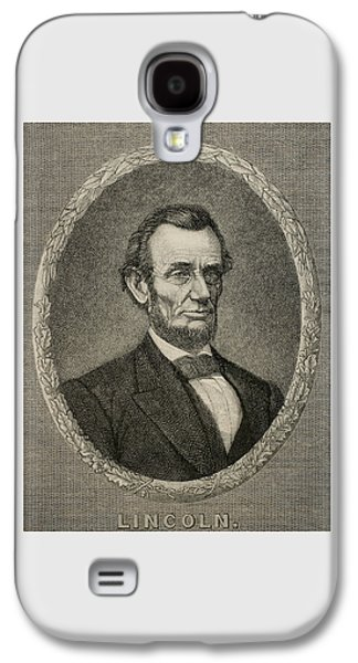 President Abraham Lincoln Galaxy S4 Case by American School