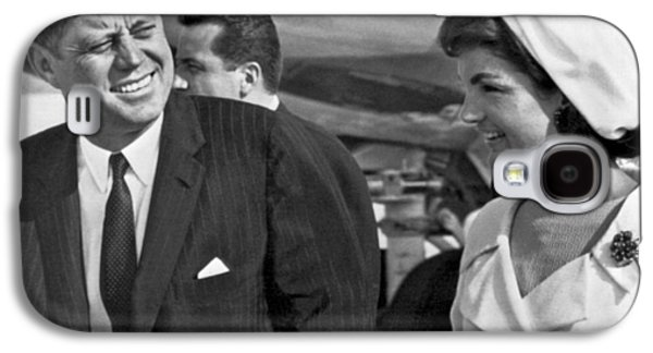 President And Mrs. Kennedy Galaxy S4 Case by Underwood Archives