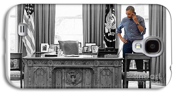 Barack Obama Galaxy S4 Case