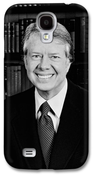 President Jimmy Carter  Galaxy S4 Case by War Is Hell Store