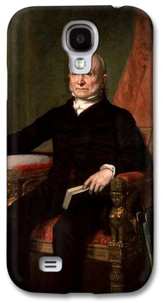 President John Quincy Adams  Galaxy S4 Case by War Is Hell Store