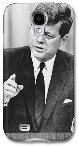 President Kennedy Speaks Galaxy S4 Case by Underwood Archives