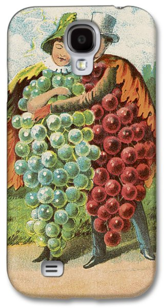 Pressed Grapes Galaxy S4 Case by Aged Pixel