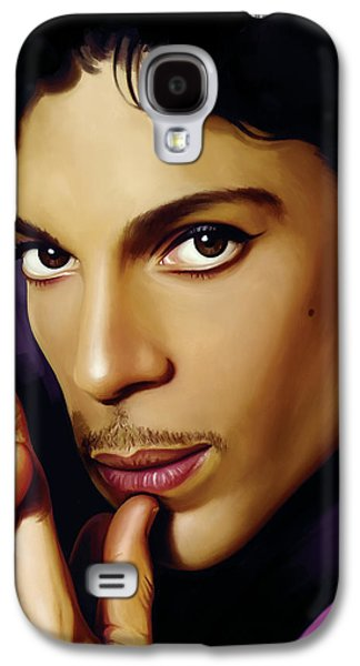 Rock And Roll Galaxy S4 Case - Prince Artwork by Sheraz A
