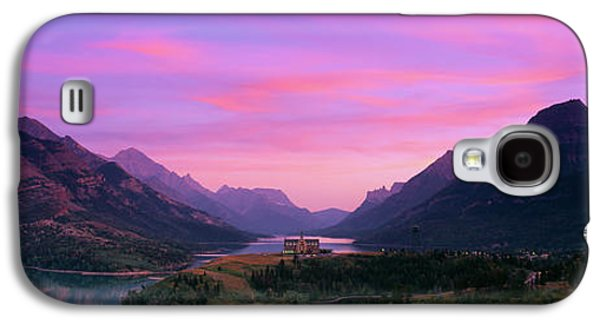 Prince Of Wales Hotel In Waterton Lakes Galaxy S4 Case by Panoramic Images