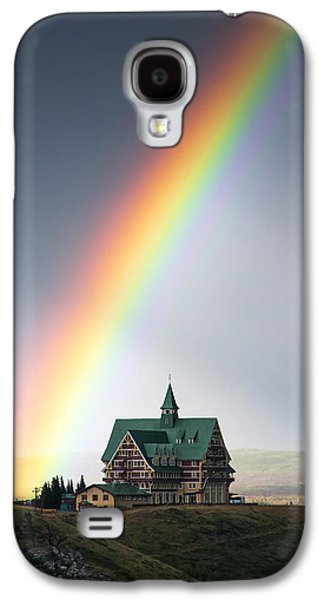 Prince Of Wales Rainbow Galaxy S4 Case by Mark Kiver