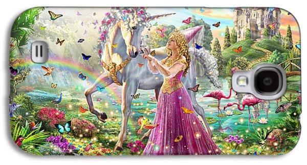 Princess And The Unicorn Galaxy S4 Case
