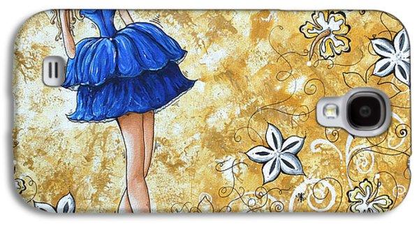 Princess By Madart Galaxy S4 Case by Megan Duncanson