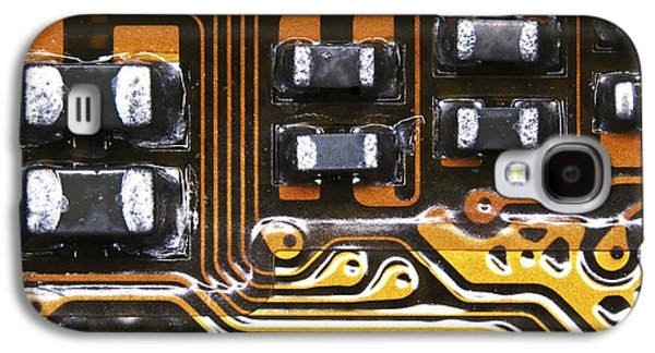 Printed Circuit Galaxy S4 Case by Alfred Pasieka