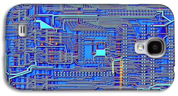 Printed Circuit Board Galaxy S4 Case