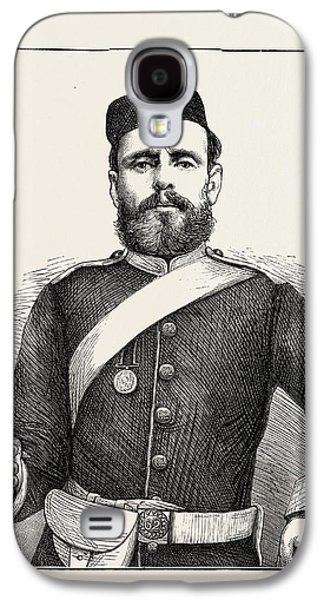 Private George Bryant, Champion Shot Of The British Army Galaxy S4 Case by English School