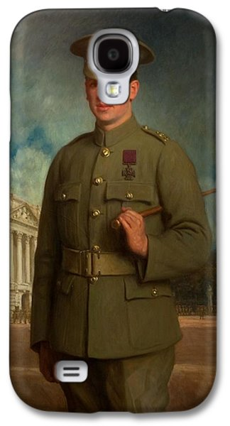 Private Thomas Whitham, Vc, 1918 Galaxy S4 Case by Isaac Cooke