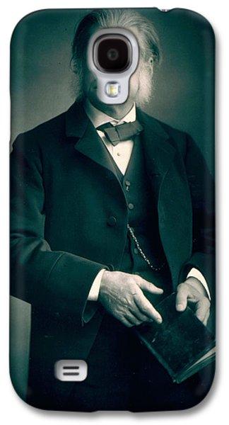 Professor Thomas H Huxley Galaxy S4 Case by Stanislaus Walery