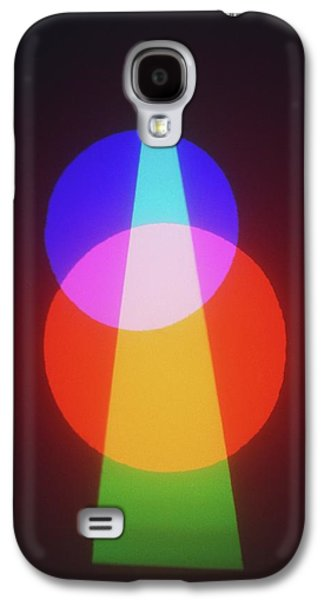 Projection Of Three Primary Colours Galaxy S4 Case by Dorling Kindersley/uig