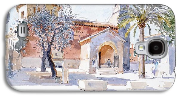 Provencal Church Galaxy S4 Case by Lucy Willis