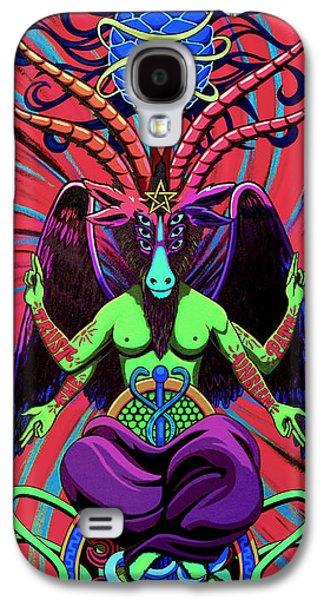 Psychtanic Baphodelic Super Goat On Dmt Galaxy S4 Case