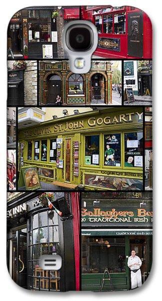 Pubs Of Dublin Galaxy S4 Case