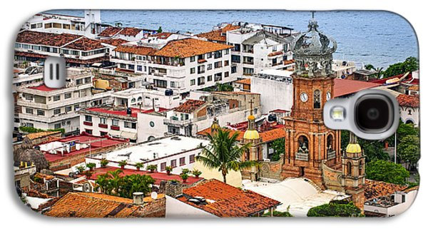 Puerto Vallarta Rooftops Galaxy S4 Case