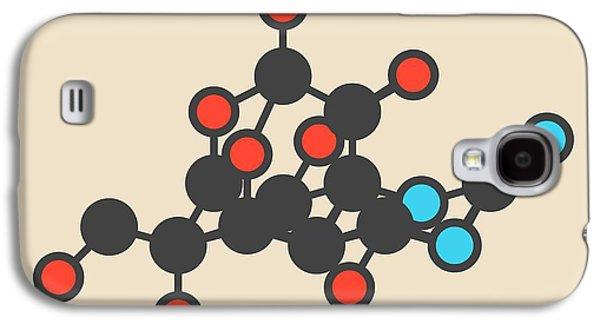 Newts Galaxy S4 Case - Pufferfish Neurotoxin Molecule by Molekuul