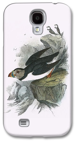 Puffin Galaxy S4 Case by English School