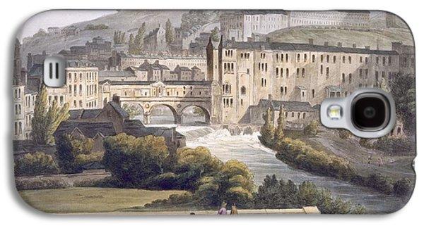 Pulteney Bridge, From Bath Illustrated Galaxy S4 Case
